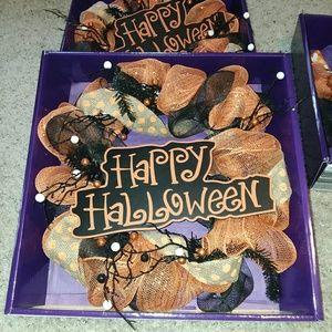 Halloween wreathand halloween bundle